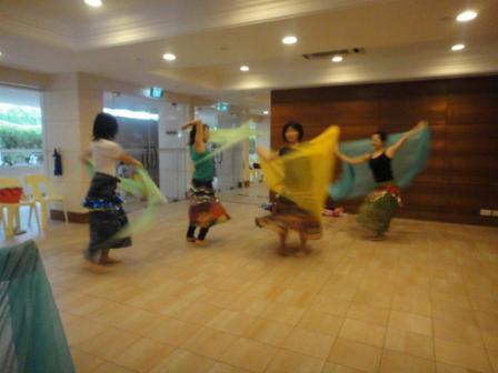 ベリーダンス健康法inシンガポール
