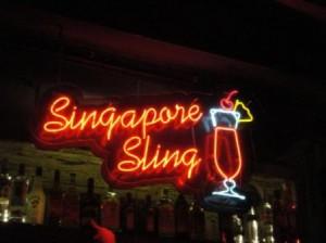 シンガポールスリングinナイトサファリ