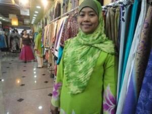 マレーシアのおばさんブティック